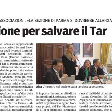 Petizione – NO alla soppressione del TAR Parma